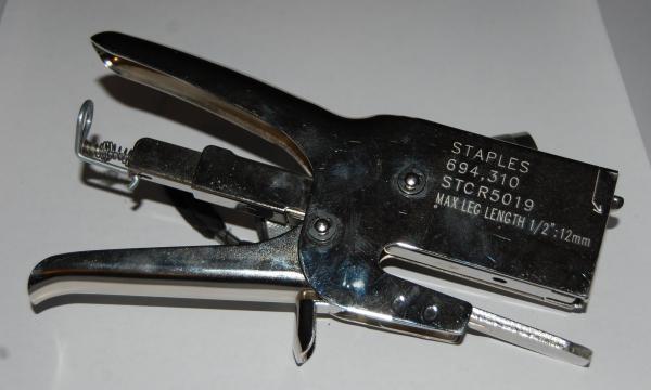 Salco Stapler Heavy Duty Box assembly stapler.