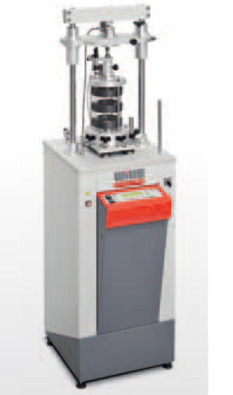Universal Machine For Fully Automatic Soilmechanic Analyses - Advanced Soil Analyer ASA-1 (TYP Wille)