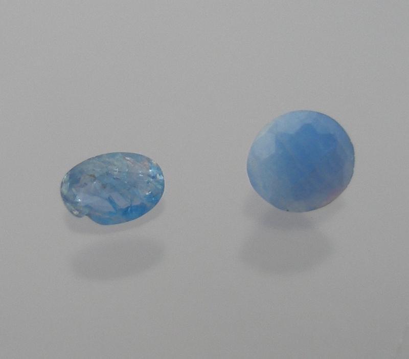 Afghanite facetted 2.8 mm, Afghanistan