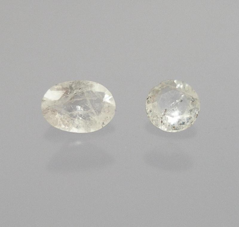 Yugawaralite facetted 2.7 mm, India