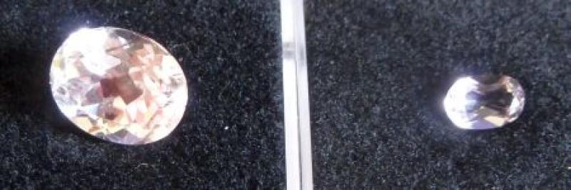 Spodumene (Kunzite) facetted 5 mm, Brazil
