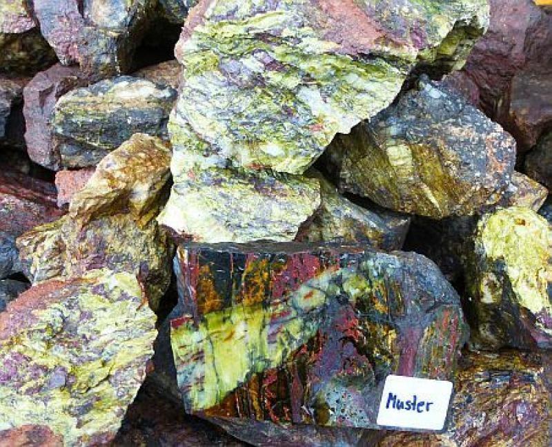 Carpholite, Biesenrode, Harz, Germany, 100 kg