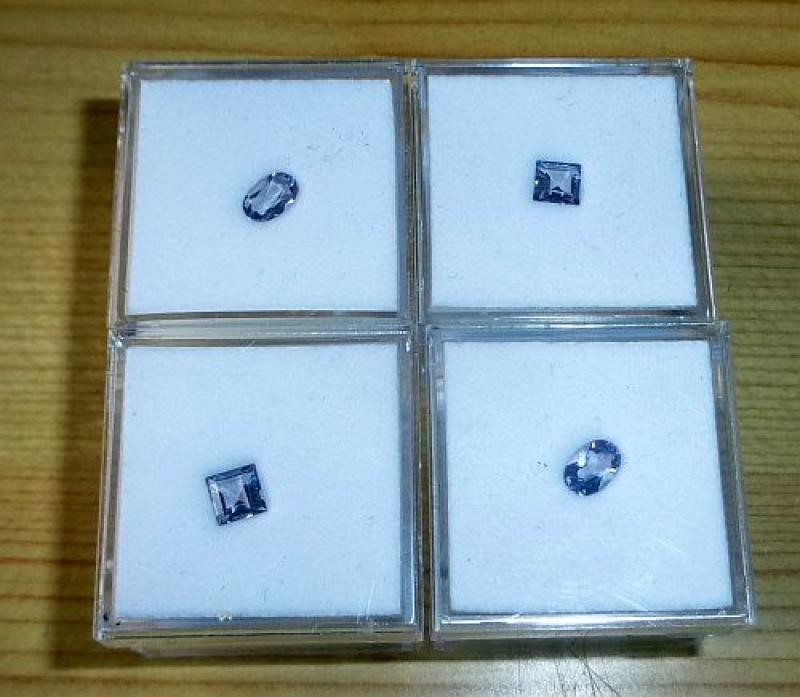 Scapolite facetted 5 mm, Tanzania, 10 pieces