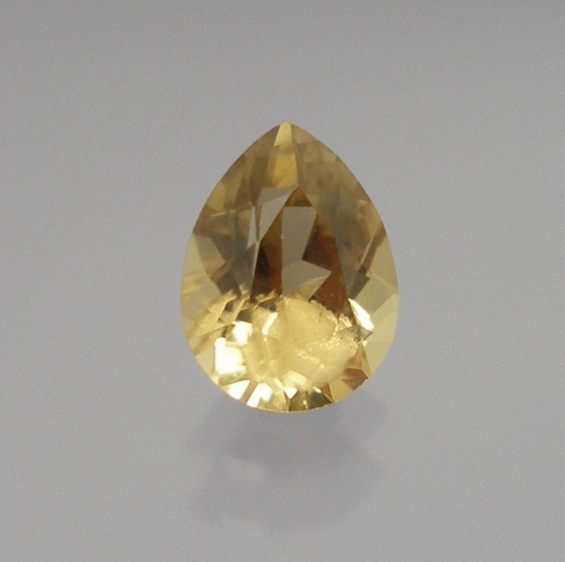 Sinhalite Pear 10x8.5 mm, Sri Lanka