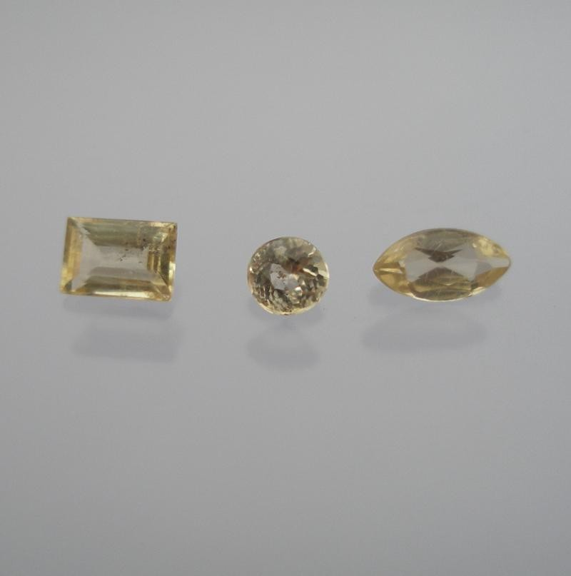 Vlasovite facetted 4x3 mm, Canada
