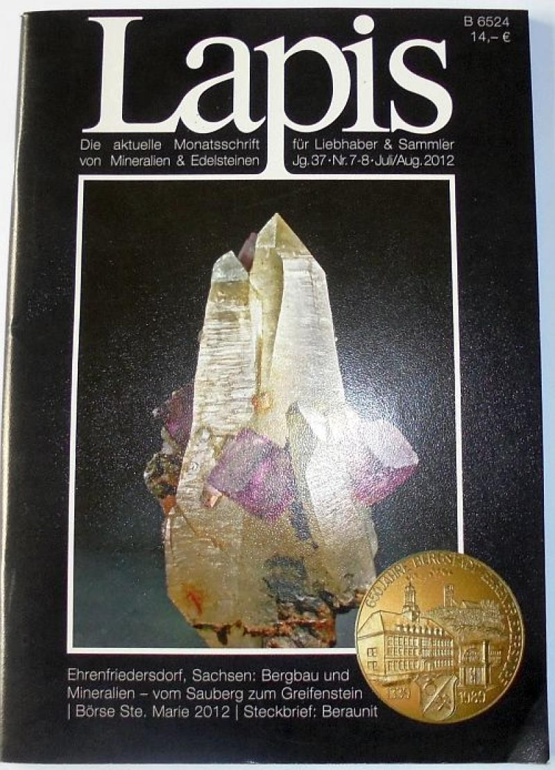Lapis, German mineral peridocal (full set)