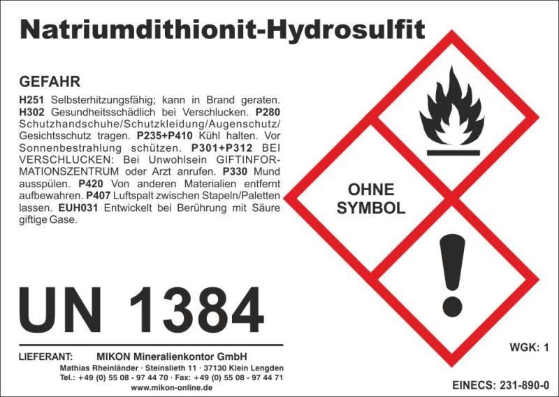 Sodium-Dithionite, sodiumdithionite 10 kg