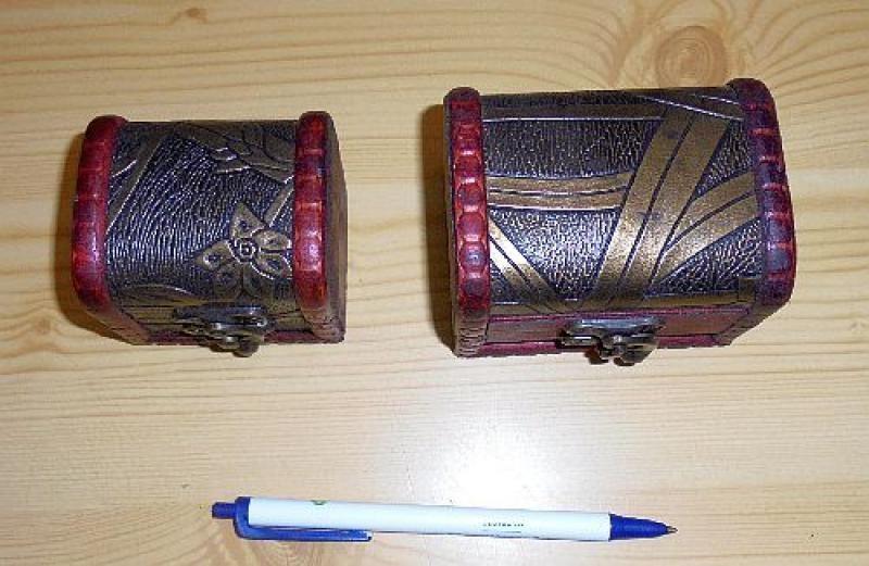 Treasure box, pirate chest, large, 1 piece