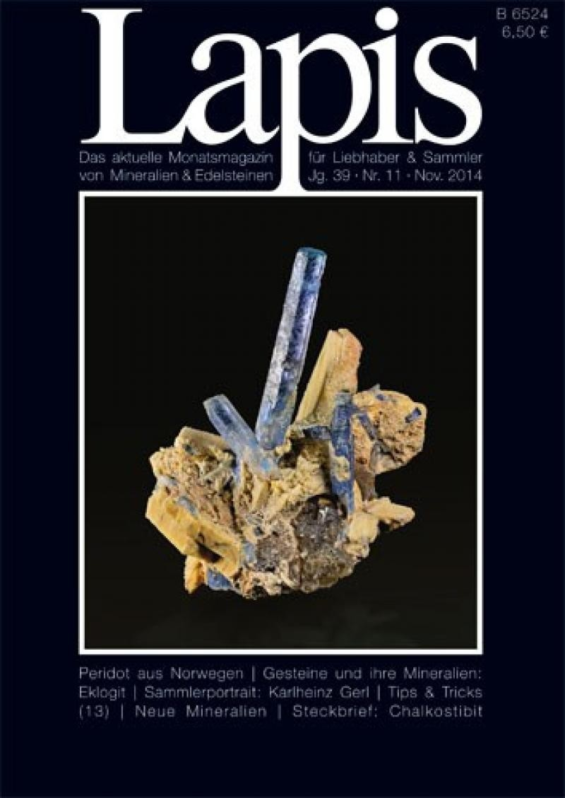 Lapis issue Vol. 39, No. 11, June 2014