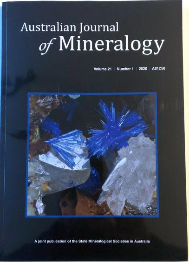 Australian Journal of Mineralogy Vol. 21, #1 2020