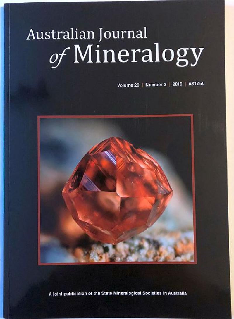 Australian Journal of Mineralogy Vol. 20, #2 2019