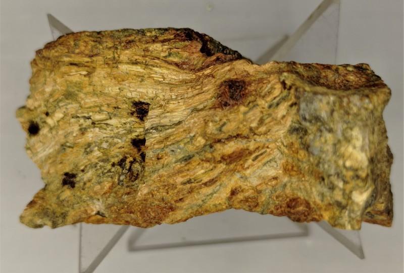 Oxyplumboromeite (Bindheimite); Djebel Nador, Constantione Prov., Algeria; MM