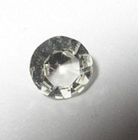Rhodizite facetted 3 mm, Madagascar