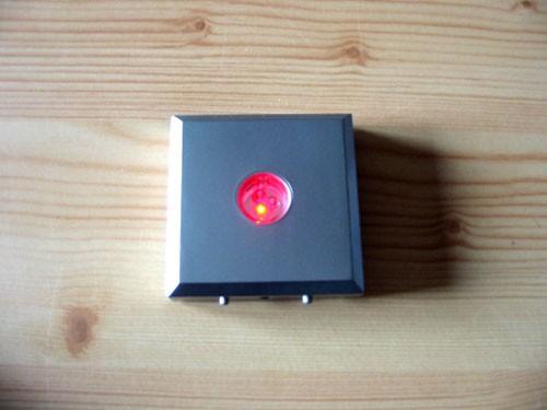 LED base, 03 LED, angular, silver, 10 pieces