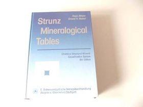 Strunz - Mineralogical Tables