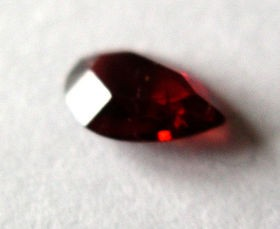 Rhodolite (garnet) facetted 4.5 mm, India