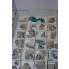 Gilalite, Kinoite, etc. xls, Christmas Mine, AZ,USA, 1 flat