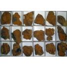 Bariumpharmacosiderite xx, with Hidalgoite, Gold Hill, UT, USA, 1 flat