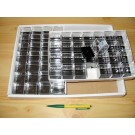 Perky boxes 1 1/4 inch; HALF carton; 336 perkies