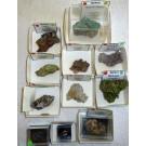Wulfenite xls, Tsumeb, Namibia, 1 lot of 11 high end specimen