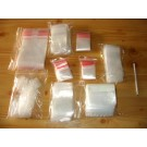 zip lock bags, 050 x 130 mm