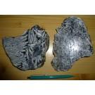 Pinolite (Magnesite) cut in slices, Tauern, Austria, 1 kg