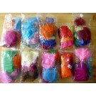 "Jewellery bags ""Organza"" (mixed colours) 100 piece"