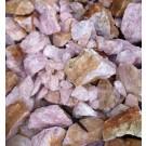Rosequartz, Namibia, smaller pieces, 100 kg