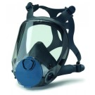 "Full head protection mask (gas mask) in size ""M"" ""professional"" with filter"