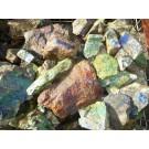 Epidote, Malachite, Morenci, AZ, USA, 100 kg