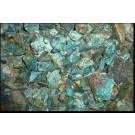 Chrysocolla with matrix, Morenci Mine, AZ, USA, 100 kg