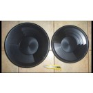"""Gold Pan 14"""" plastic, fine grooves"""