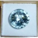 Aquamarine - Beryl facetted 14 mm, Brazil