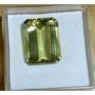 Heliodore faceted, 15 mm, Namibia