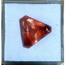 Oligoclase - Sunstone facetted 19 mm, OR, USA