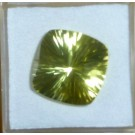 Citrine facetted 14 mm, Brazil