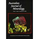 Australian Journal of Mineralogy subscription for 2 issues including postage