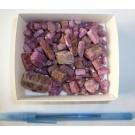 Ruby crystals, 1st choice, TOP!, Tanzania, 50 g