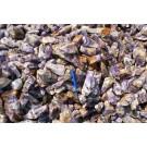"Amethyst (Chevron), large, pure pieces ""XL"", Zambia, 1 kg"