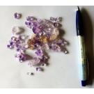 Amethyst xx, small, gemmy crystals, Zambia, 1 kg