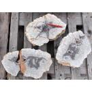 Agate Thundereggs cut, Börtewitz, Sachsen, Germany, 1 lot of 3 large pieces, app. 25 kg