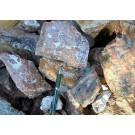 Andradite - Garnet (skarn with actinolite), Namibia, 1 kg