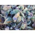 Fluorite (rainbow-fluorite, multicoloured, carving grade), Uis, Namibia, 100 kg