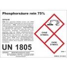 Phosphoric acid 1 l (= 1.73 kg)