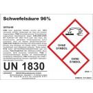 Sulfuric acid 96% 1 l (= 1.84 kg)
