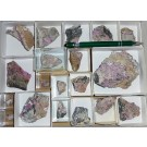 Sainfeldite, Rauenthalite, Cobaltkoritnigite, etc. xls, Richelsdorf, Hessen, Germany, 1 small flat