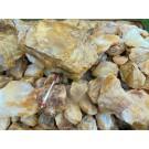 """Citrine (""""golden healer"""", natural!), Madagascar, 100 kg"""