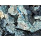Apatite (blue) larger pieces, Madagascar, 1 kg