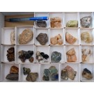 Mixed Minerals (pegmatitic) from Madagascar, (lot # 1) 1 small flat