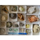 Mixed Minerals (pegmatitic) from Madagascar, (lot # 2) 1 flat